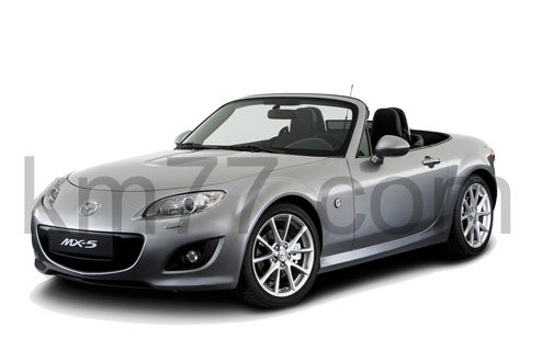 2010 Mazda MX-5 Facelift Official Photo Leaks