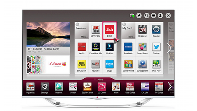 Dish App Puts a Hopper DVR Directly Into LG Smart TVs