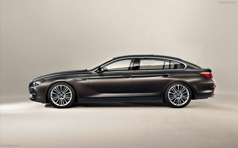The BMW 6 Series Gran Coupe GT - Because it's going to happen