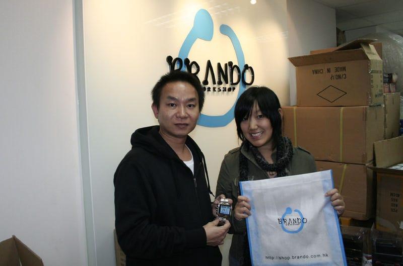 Meeting Brando, Hong Kong's USB Willy Wonka