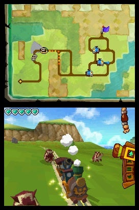 The Legend of Zelda: Spirit Tracks Preview: Pigs Might Fly