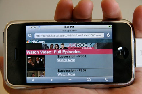 NBC Streaming Full Episodes of 30 Rock and the Office to iPhones (for Free, No Ads!)