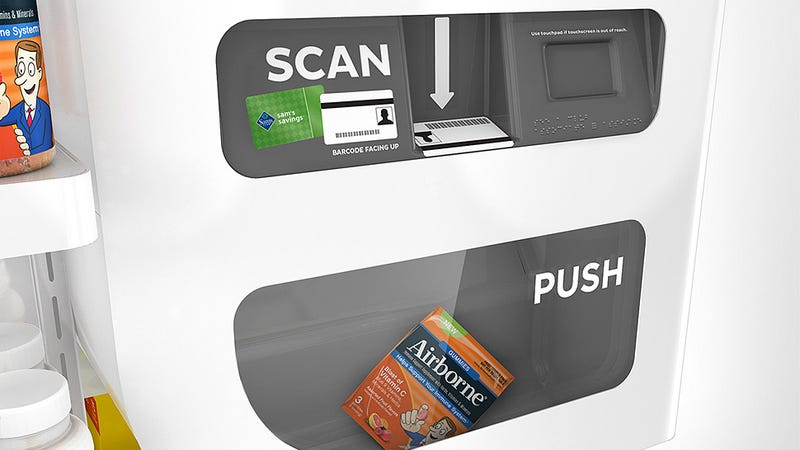 Automated Free Sample Kiosks Thwart Your Complimentary Gorging