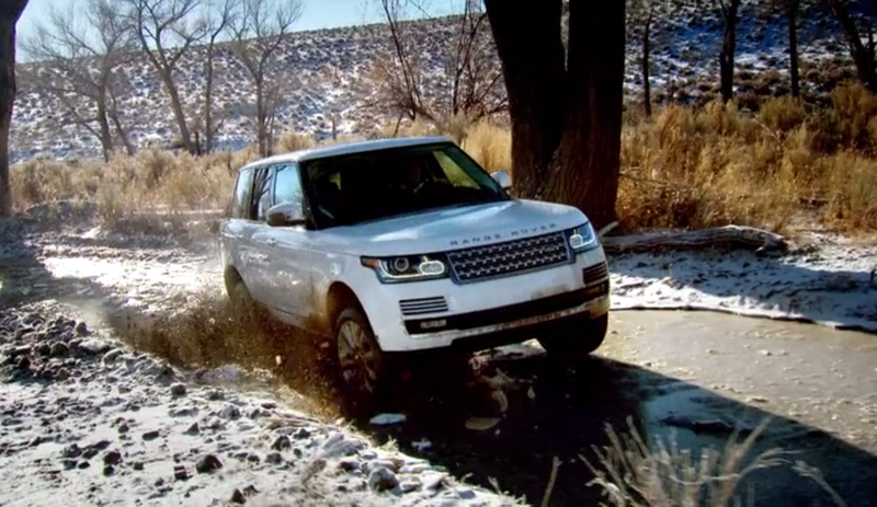 Breaking The Ice: The Range Rover Edition