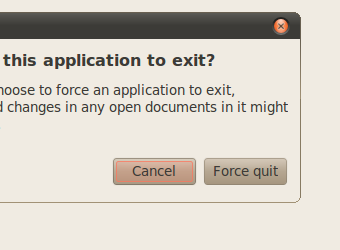 Add a Force Quit Button to Ubuntu