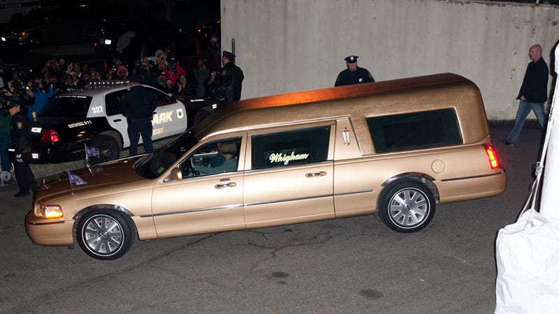 Whitney Houston's Baller Hearse