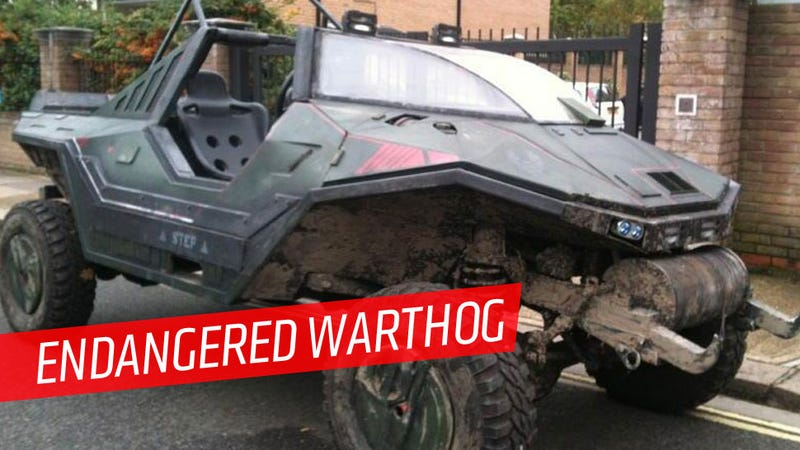 Someone Please Buy This Giant Halo Warthog Before It's Scrapped