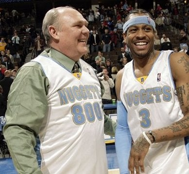 George Karl Does Not Miss Allen Iverson