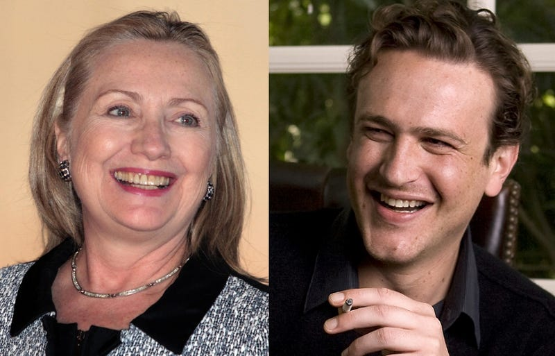 Jason Segel Receives Rejection Letter From Hillary Clinton