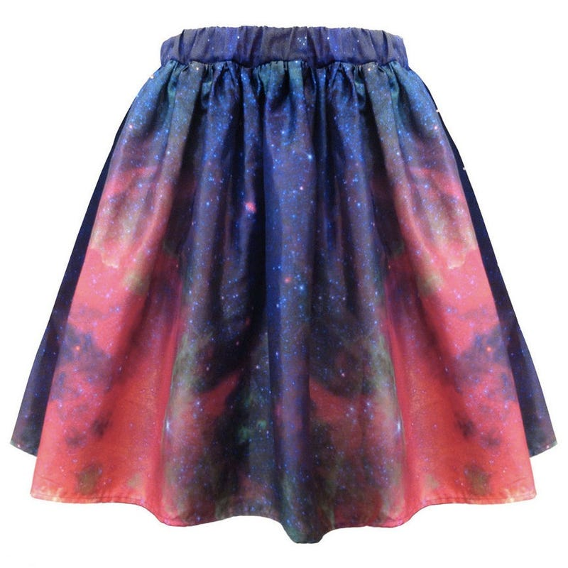 Hubble-print dresses, skirts, and scarves let you wear your space porn everywhere