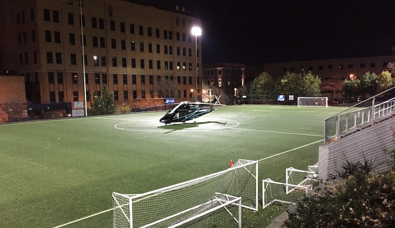 NJ Devils Owner's Helicopter Parks On Soccer Field, Cancels Youth Game [Update]