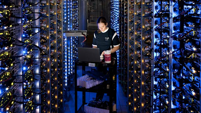 Full Virtual Access Inside Google's Secretive Data Centers