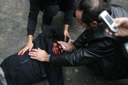 In Iran, Cameras Held High
