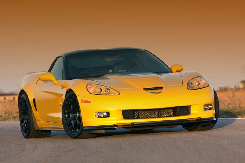 Hennessey Corvette ZR750 Gets Flogged On Track