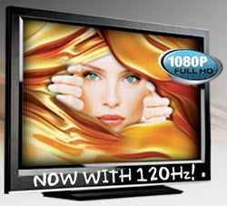 Vizio Black Tie XVT 120Hz LCDs Out Soon; Wal-Mart Getting 120Hz By Next Year