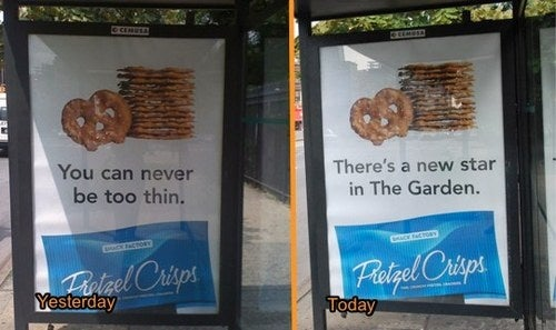 Snack Food Company Replaces Ad That Encouraged Anorexia