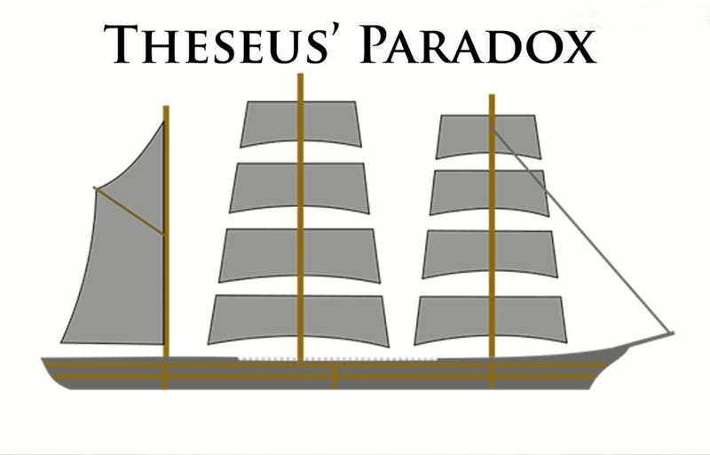 The Ship of Theseus and the Sugarbabes!