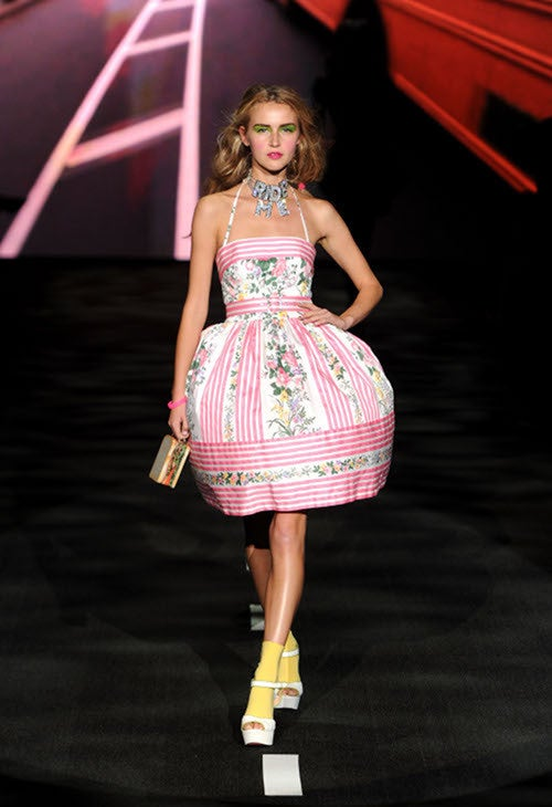 Betsey Johnson's Show Is Over-The-Top, Per Usual