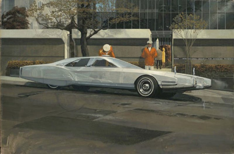 Concept Art of Syd Mead