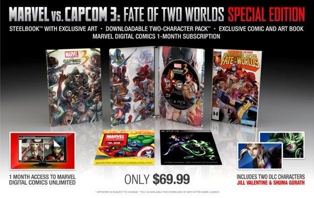 Marvel Vs. Capcom 3 Makes A Jill Sandwich