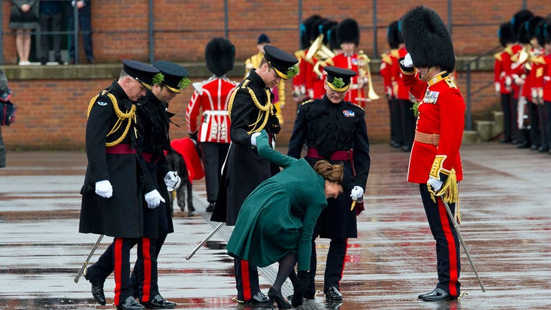 Kate Middleton Got Her Heel Stuck in a Grate on St. Patrick's Day; Probably Means She's Having a Boy