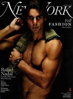 Rafael Nadal: Mature In Neon