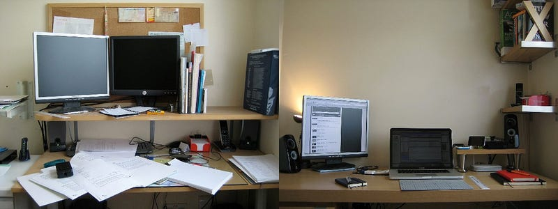 Messy to Managed: A Small Workspace Makeover
