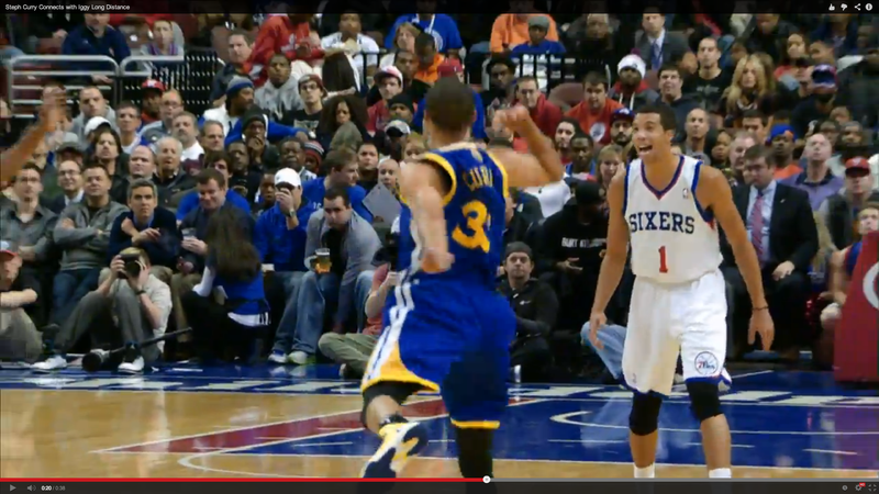 Steph Curry Throws The Steph Curry Of All Alley-Oops
