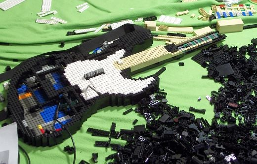 Fully-Functional LEGO Guitar Hero Controller: Part 3