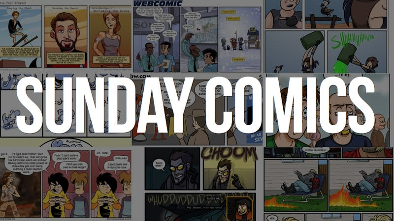 Sunday Comics: Corrosive Effect
