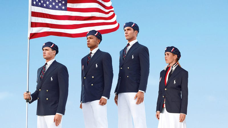 U.S. Olympic Team Outfits Not Made in the U.S. Because U.S. Olympic Team Hates the U.S.