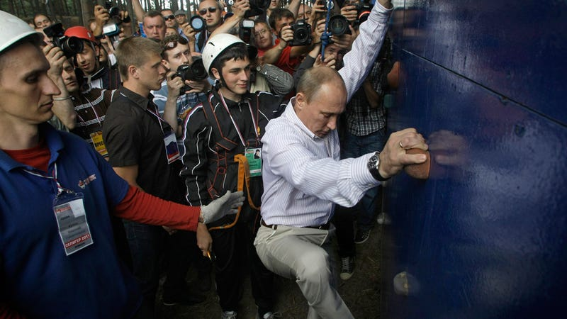Putin Calls U.S. a 'Parasite'