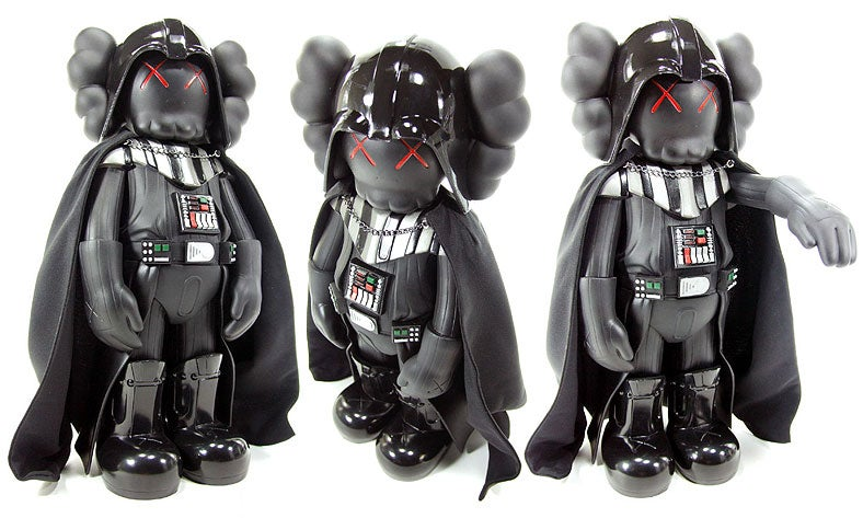 Kaws Darth Vader Unboxed