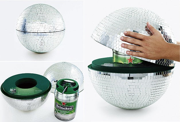 Disco Ball Keg is an Understated Way to Get Your Beer