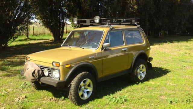 Rare Lada Niva 4x4 for sale on Ebay