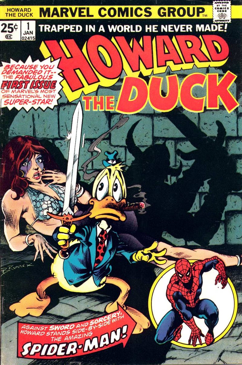 So Marvel Just Added A Bunch Of Howard The Duck Comics To Its App...