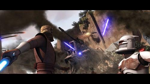 Space battles, dark betrayals, and Greedo! Your first look at Clone Wars season three