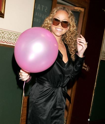 Mariah's HSN Line: Pink And Butterflies And More Pink