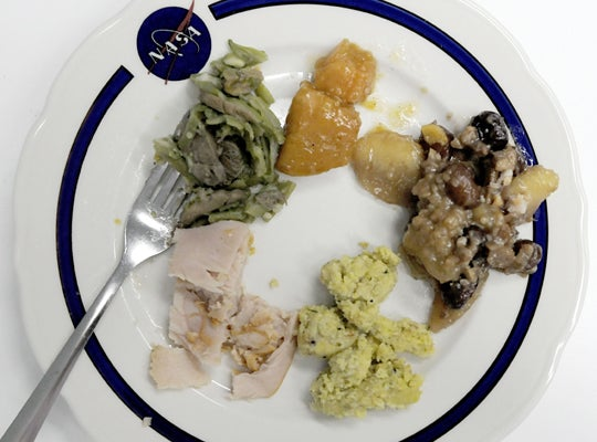 Thanksgiving Dinner is Sadder in Space
