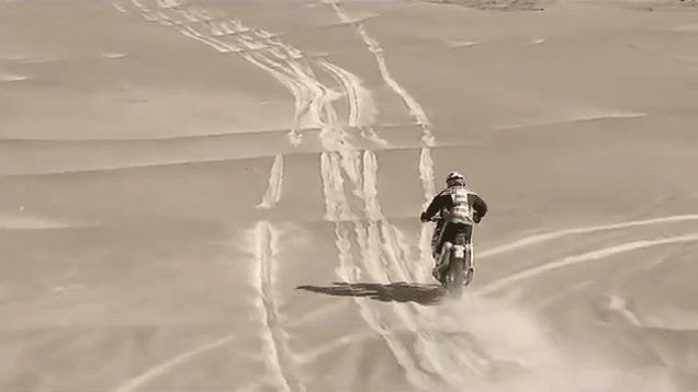 In Case You Didn't Know, The Dakar Rally Is Insane