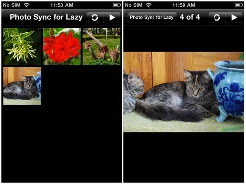 PhotoSync for Lazy Auto-Syncs Your Photos to Your iPhone Over Wi-Fi