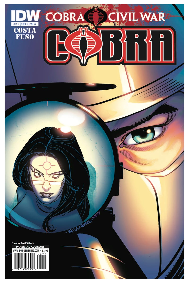 Read an exclusive seven-page preview of the next issue of G.I. Joe: Cobra!