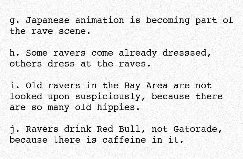 "Please Enjoy the DEA's Very Good Guide to ""Rave Parties"""