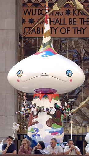 Murakami's Alienesque Sculptures Arrive in Brooklyn