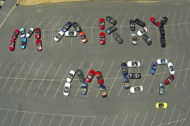 Marriage Proposal, Miata Style