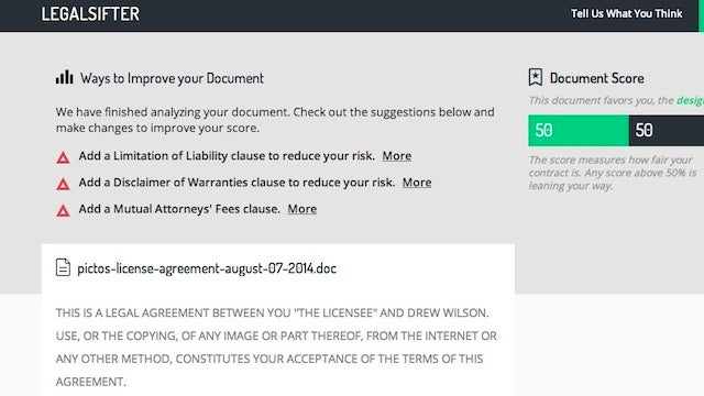 LegalSifter Demystifies Legal Contracts