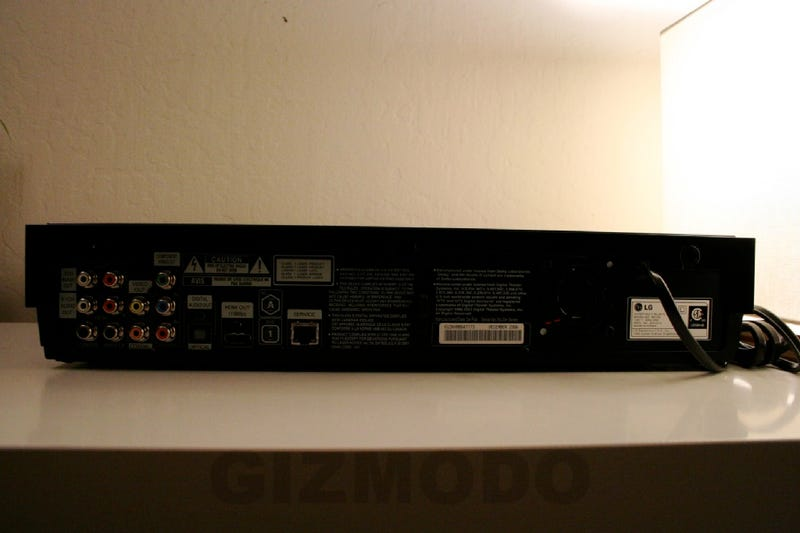 First Review: LG BH100 Hybrid Blu-Ray/HD-DVD Player (Verdict: Format War Still Blazing)