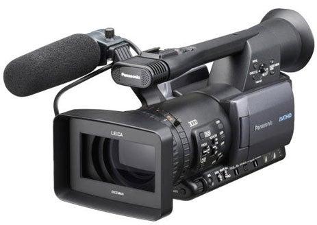 Panasonic AG-HMC150 Shoots on SDHC