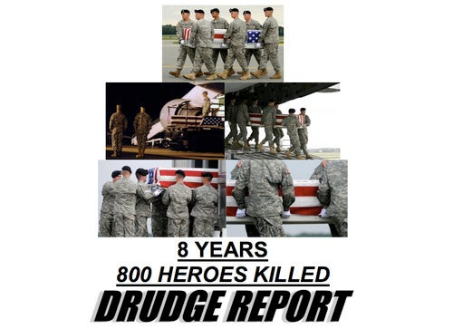 Drudge and Palin's Afghanistan Messages: A Right-Wing Sybil Moment?