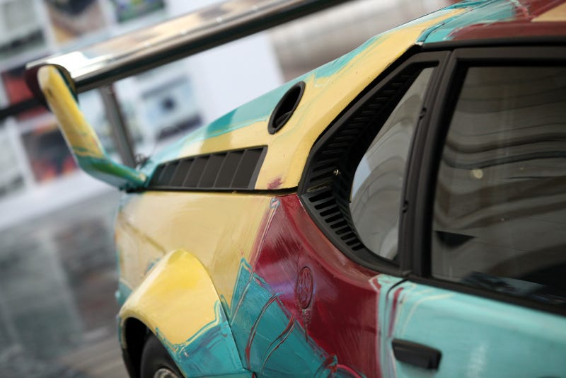 Andy Warhol's BMW M1 Comes to Town